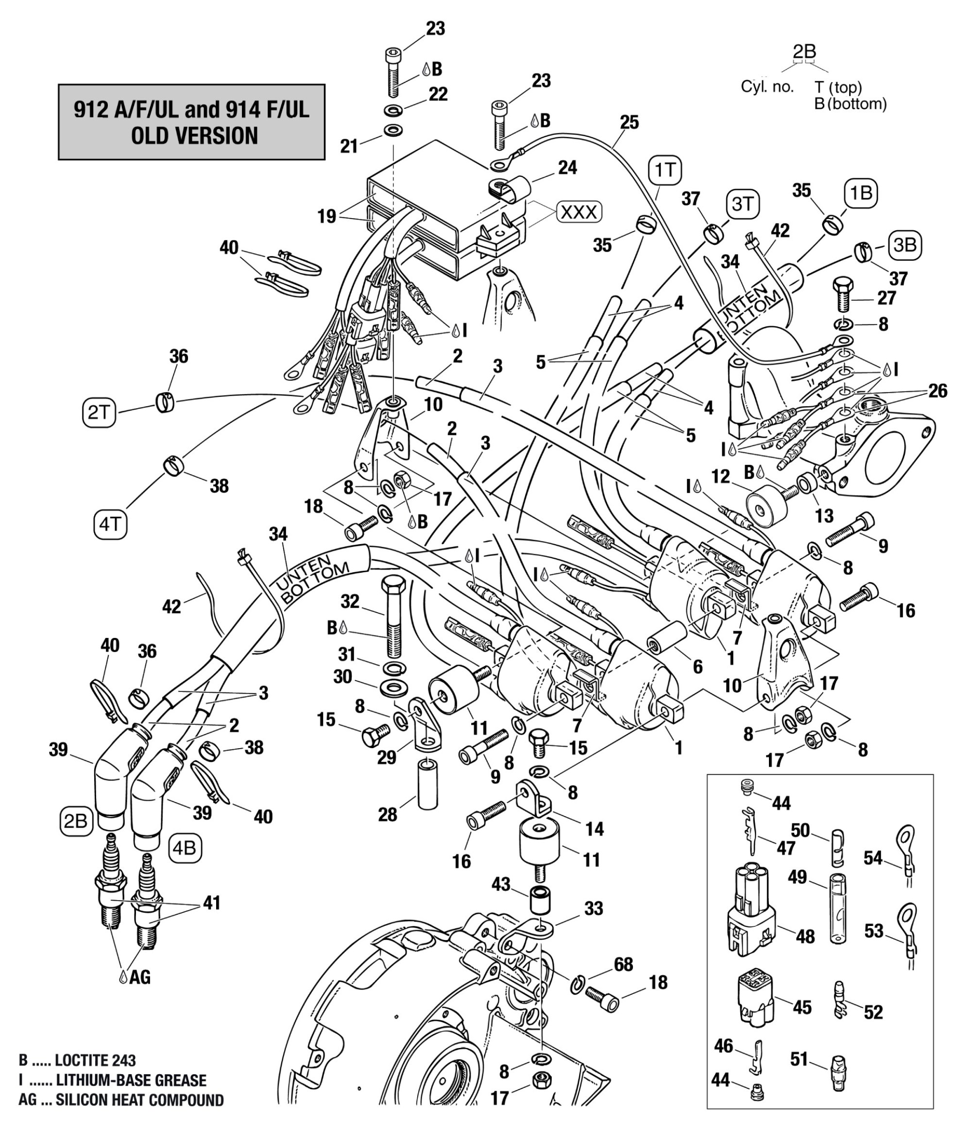hight resolution of rotax 912 ignition wiring diagram wiring library912 u0026 914 double ignition coil assembly