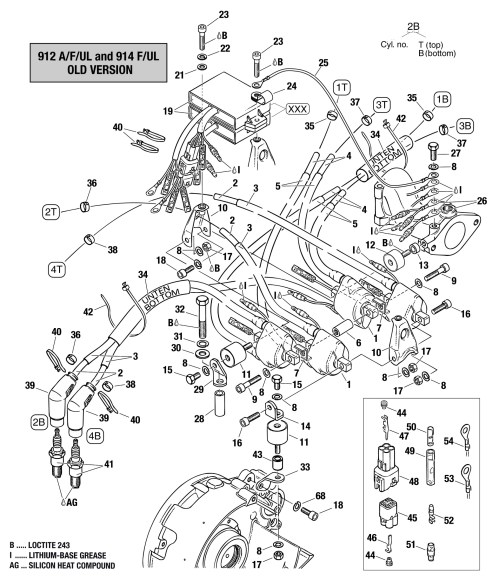 small resolution of rotax 912 ignition wiring diagram wiring library912 u0026 914 double ignition coil assembly