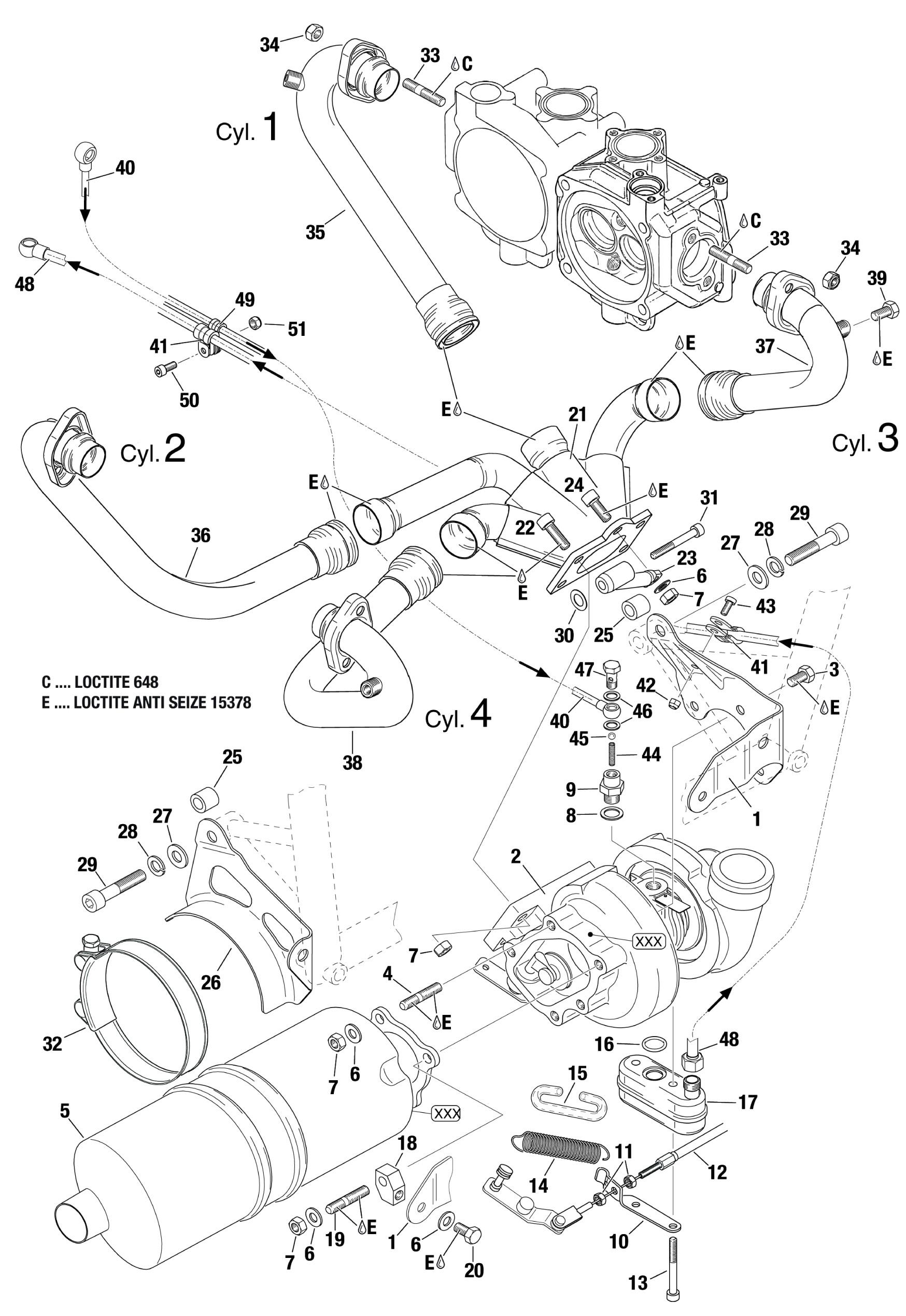 914 Muffler Turbocharger Oil Sump Pump