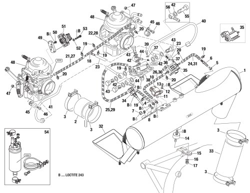 small resolution of 914 airbox assembly