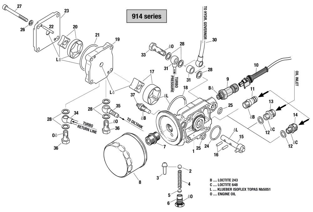 medium resolution of 914 oil pump assembly