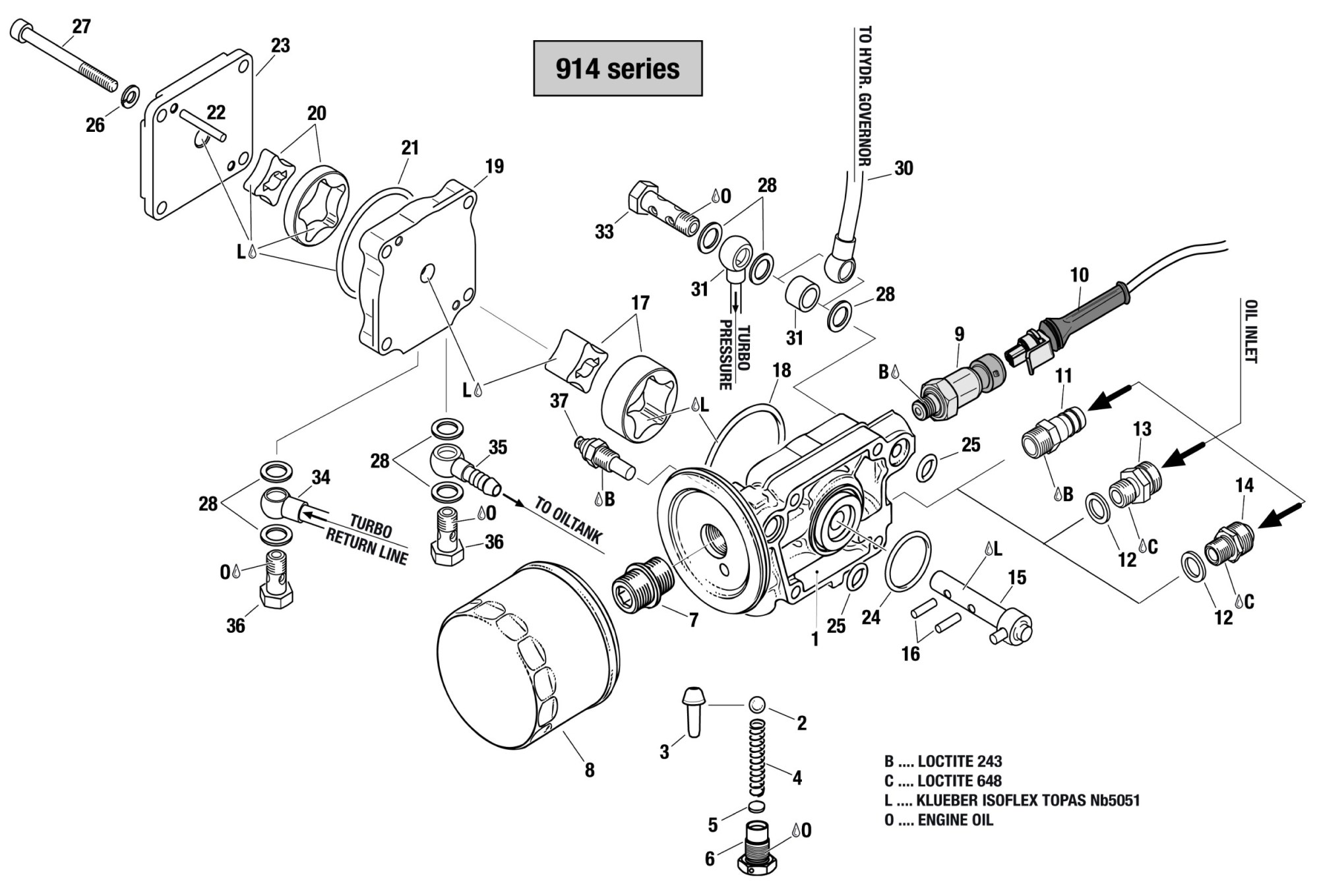 hight resolution of 914 oil pump assembly