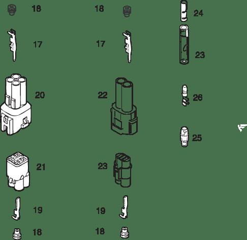 Wiring Accessories for ROTAX 447 UL, 503 UL, 582 UL Mod. 90/99
