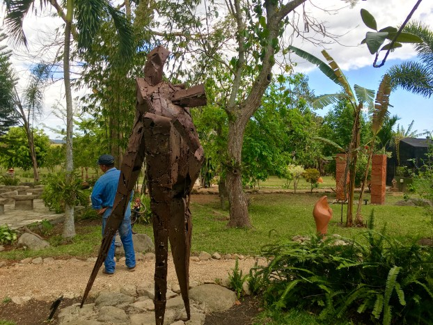 Agriculture, scupltures, and a delicious meal: Finca La Coincidencia