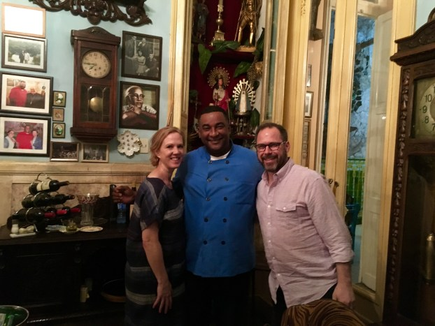 Amazing ambiance, great food, and generous owner/chef at San Cristobel