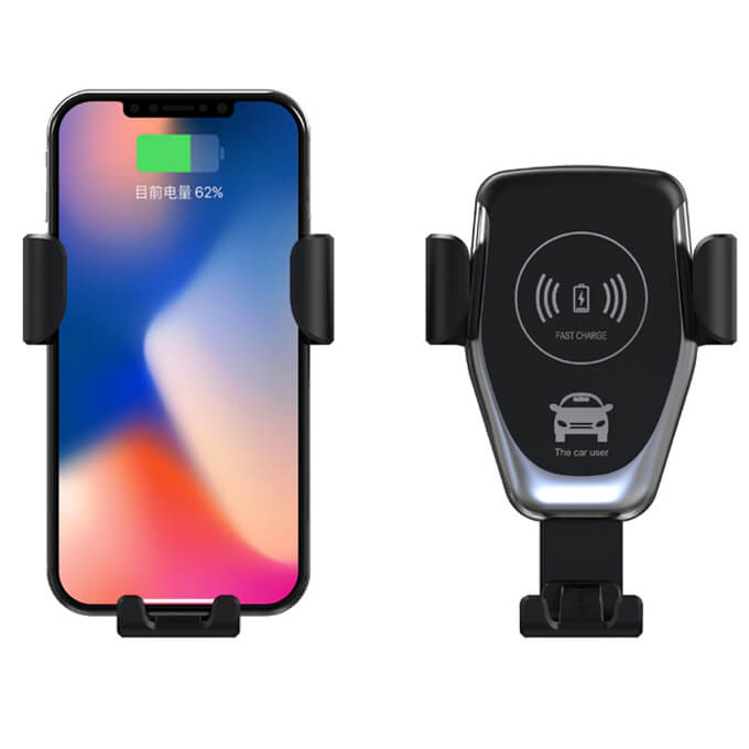 All Phone Compatible Car Wireless Charger Mount Holder 10W Fast Charger