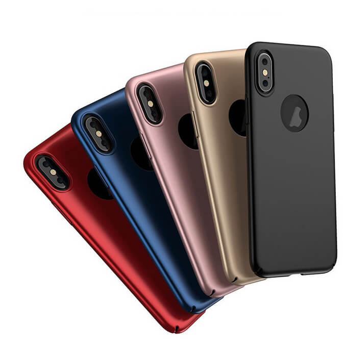 Matte PC Hard Phone Case Cover Shell Luxury Slim Cases for iPhone XS MAX XR