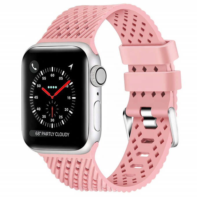 Colorful Sport Soft Silicone Replacement Strap for Apple Watch