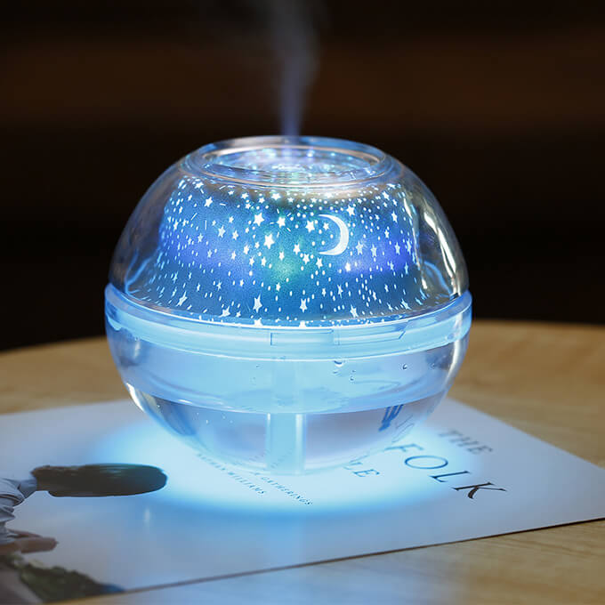 LED Ultrasonic Cool Mist Aroma Humidifier with Night Light for Home Office Baby Room