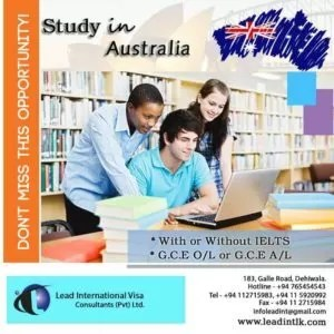 Study in Australia With or without IELTS