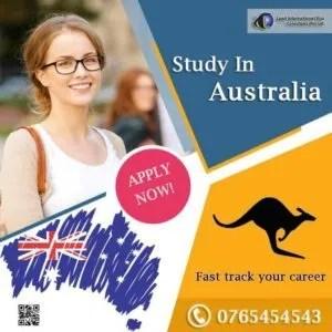 Study Australia students