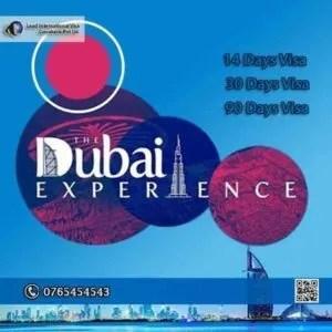 Dubai Tourist Visas