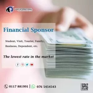 Financial sponsor support for all countries Srilanka