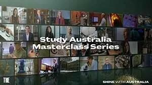 Study Australia International Masterclass Series