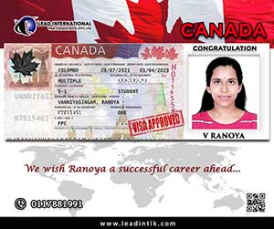 Canada Student Visa Success Ranoya