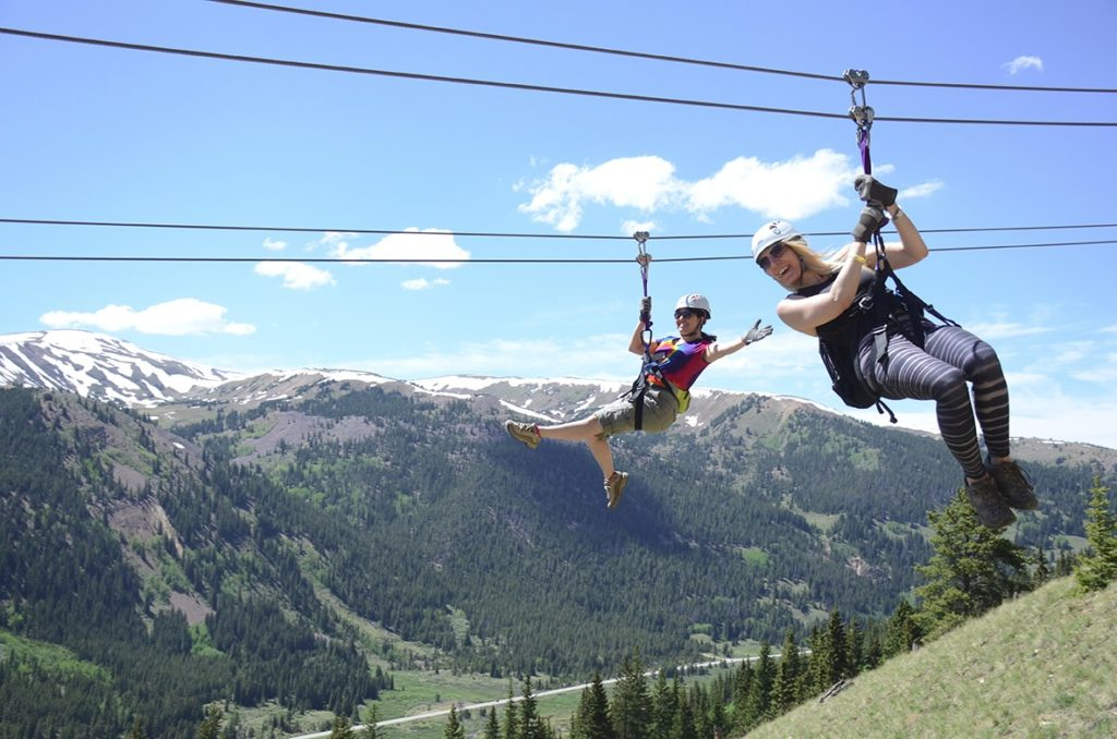 Top of the Rockies Zipline  Things to Do in Leaville Twin