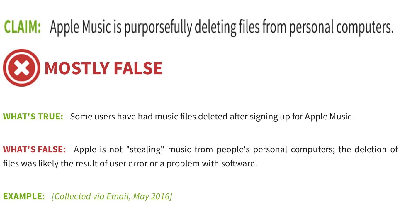 Apple's Deleting Your Music to Force You to buy Apple Music