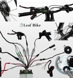 wire diagram for bldc hub motor electric bike conversion kit [ 1000 x 871 Pixel ]