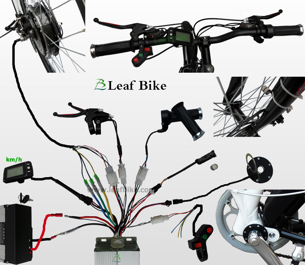 hight resolution of  wire diagram for bldc hub motor electric bike conversion kit