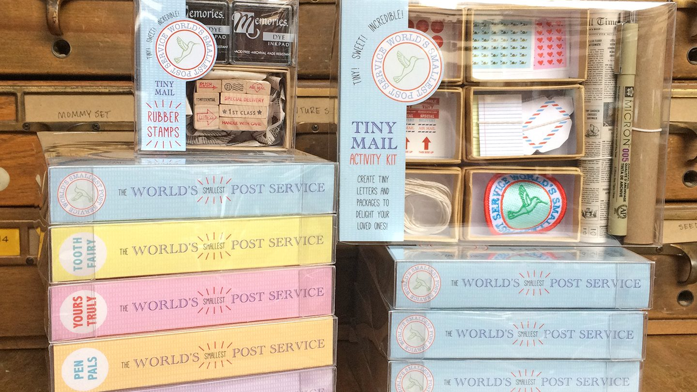 tiny mail stationery kit