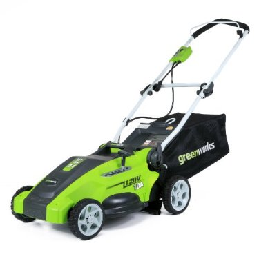 GreenWorks electric Mower 25142 review