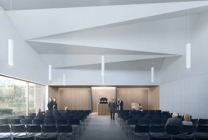 Artist impression of the Chapel