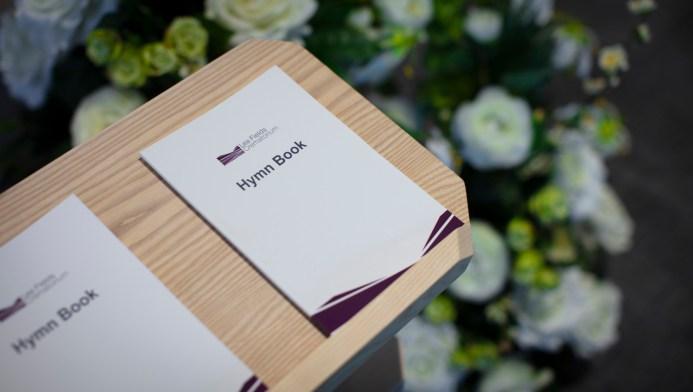 Lea Fields Crematorium - Hymn Books