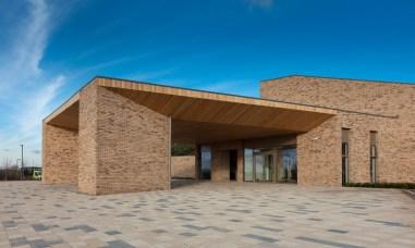Lea Fields Crematorium - front view