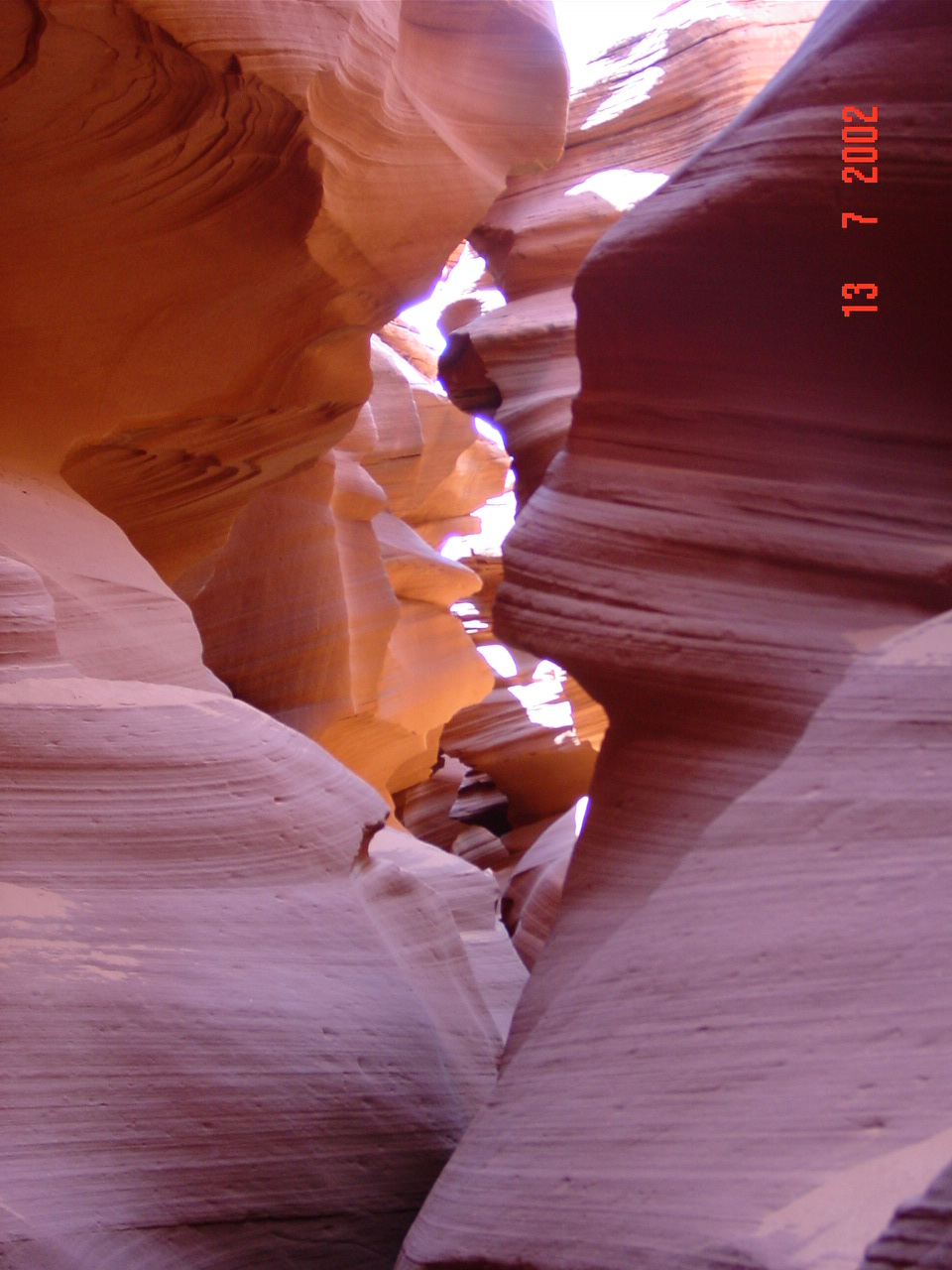 Antelope Canyon on the inside