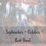 September + October book haul cover image