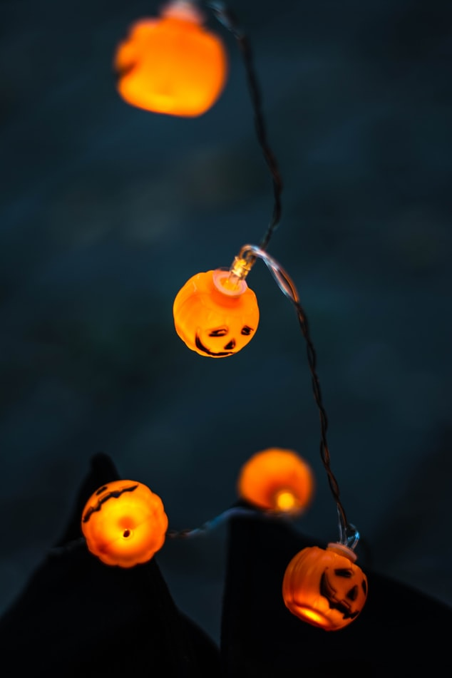 the halloween book tag cover image
