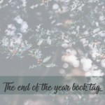 the end of the year book tag cover image