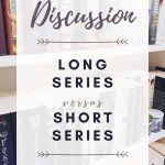 long versus short book series cover image