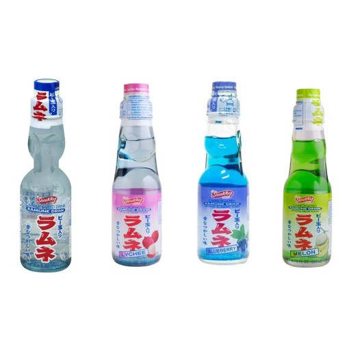 Ramune Beverage Japanese Drink