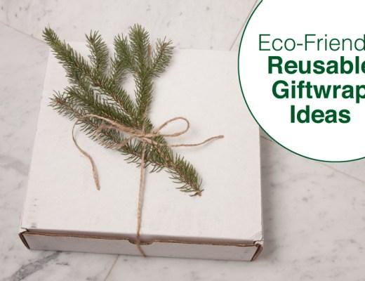 Eco-Friendly Reusable Giftwrap Ideas