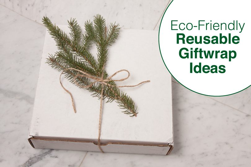Eco-Friendly Reusable Giftwrap Ideas