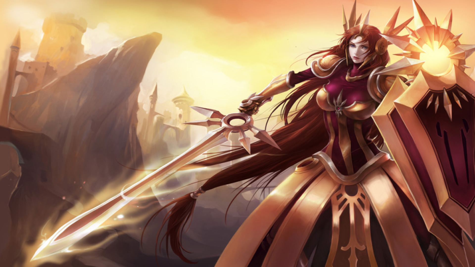 Chinese Girl Wallpapers Hd Leona Wallpapers Leaguesplash