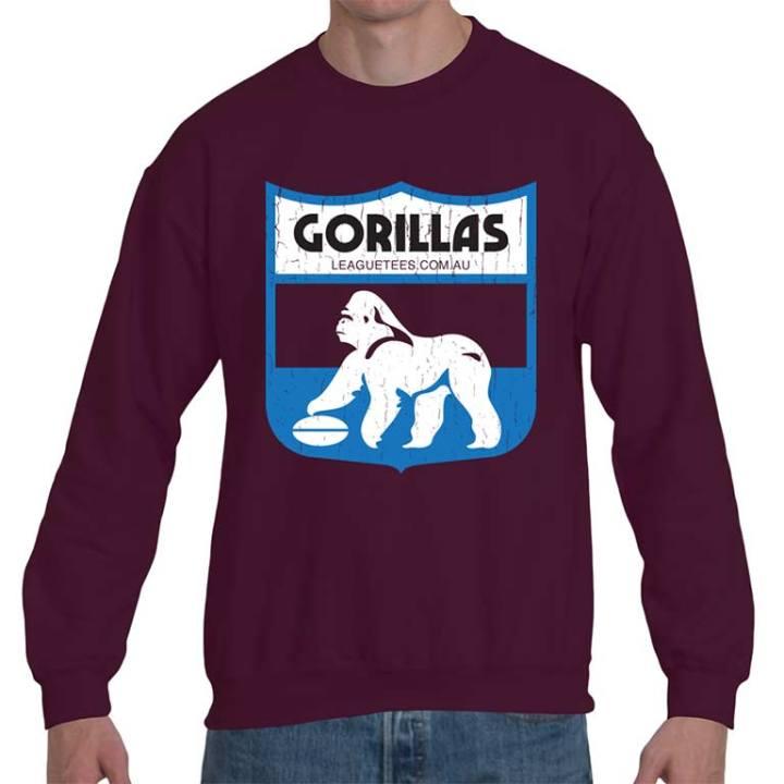 fitzroy gorillas vintage sweatshirt