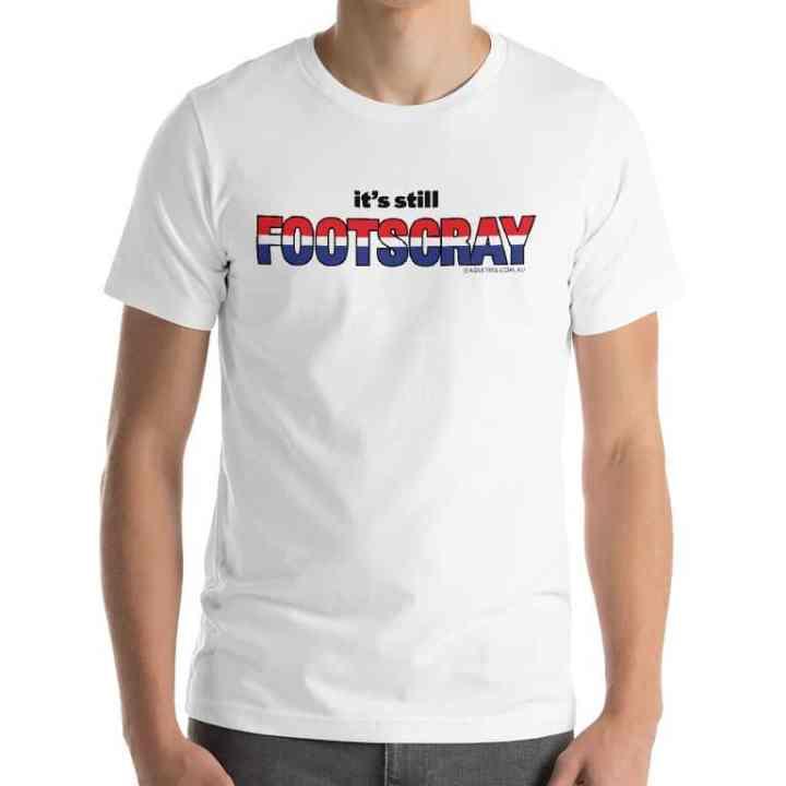 footscray football tshirt