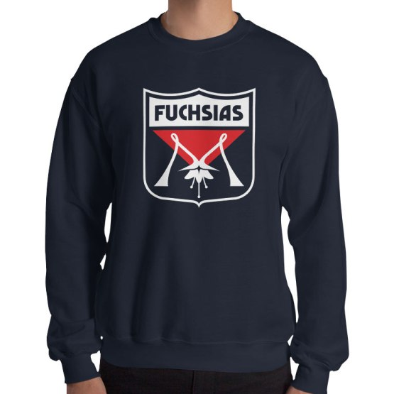 fuchsias melbourne football jumper