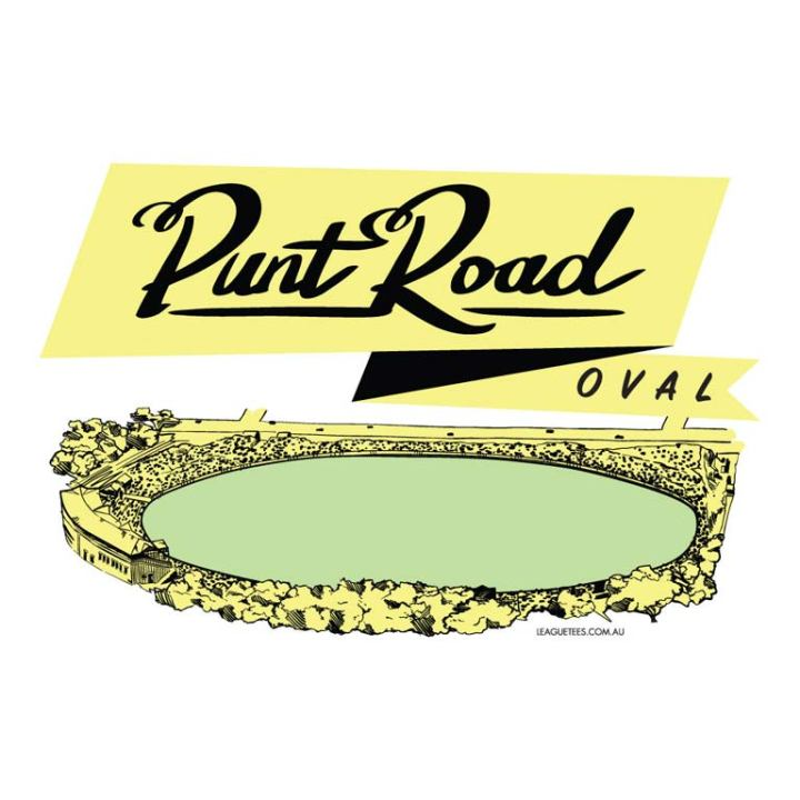 the punt road oval is a retro footy ground in richmond