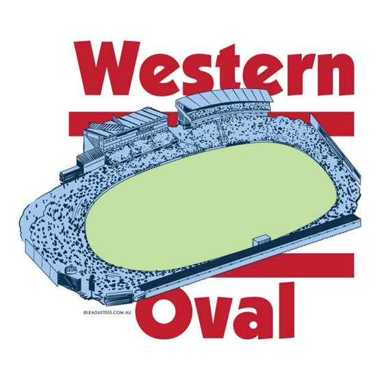 Western Oval football ground in Footscray