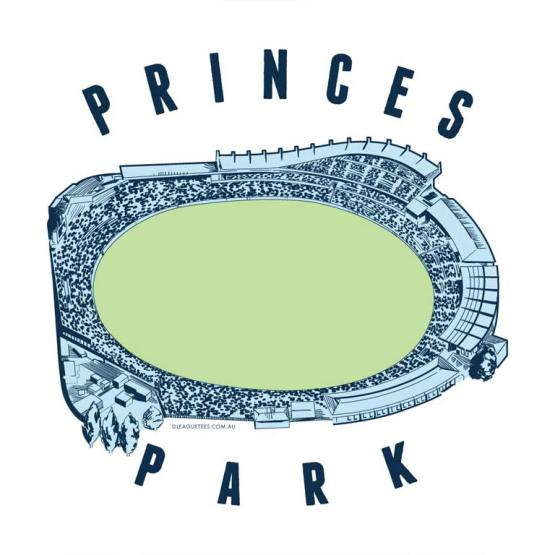 princes park suburban footy ground is located in carlton