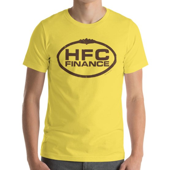 HFC Finance footy shirt