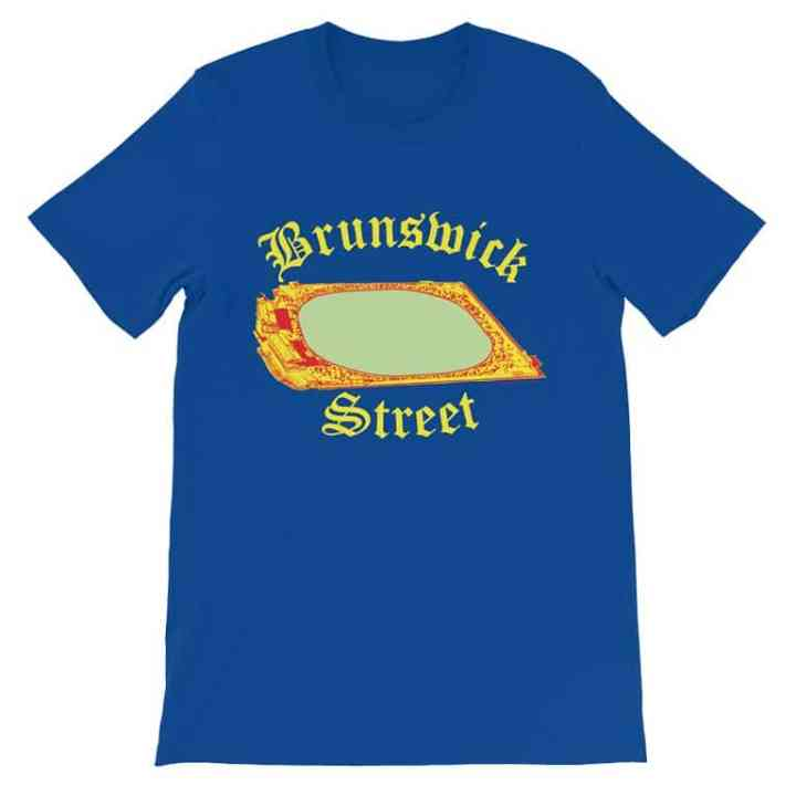Brunswick Street Fitzroy football shirt