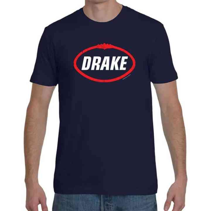 Drake retro football shirts