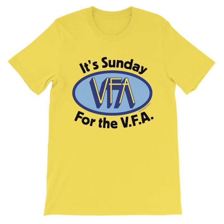 VFA suburban football shirt