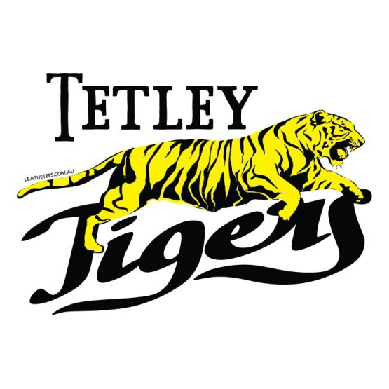 Tetley tigers football jumper