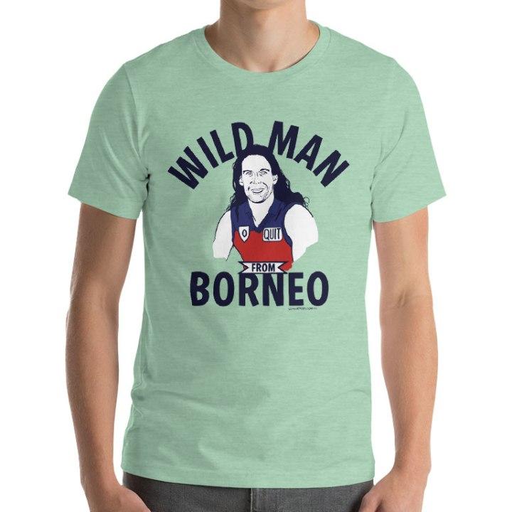 mark zanotti wild man afl shirt