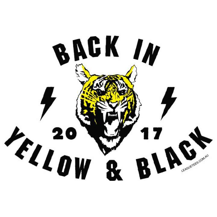 Tigers yellow and black